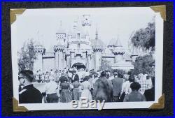 1955 Vintage Walt Disney 2 Rare Original First Day Letters 3 Disneyland Photo