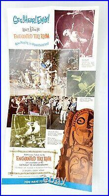 1963 Disneyland Enchanted Tiki Room Premiere Brochure Vintage 1960s Disney MINT