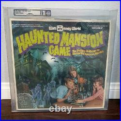1975 Lakeside Walt Disney World Haunted Mansion Afa 75 Sealed Game Halloween Vtg