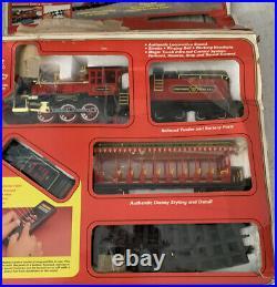 1988 Rare Vintage Walt Disney Railroad Train Set New In Box
