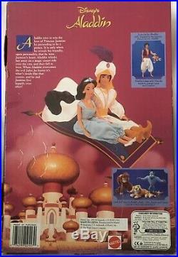 1992 Walt Disney Aladdin Princess JASMINE Barbie Doll by Mattel #2557