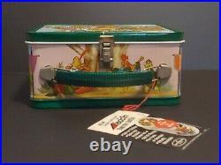 Aladdin Metal Lunch Box Thermos Walt Disney's Robin Hood W Tags Vintage Original