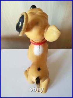 Antique Old Vintage Walt Disney BIG PLUTO Large Rubber Toy RARE EXAMPLE