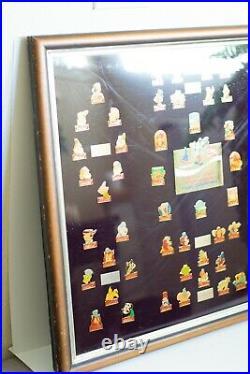 Disney Vintage Walt Disney Coca Cola 15th Birthday 1986 Set of 60 pins, LE 1000