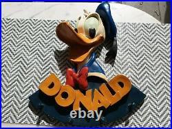 Donald Duck Figur Wand Garderobe Walt Disney