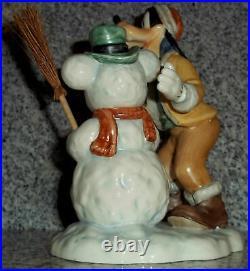 Goebel Disney Figur Goofy und Schneemann Rarität Goebel Archivstück