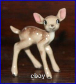 Hagen-Renaker Walt Disney Faline Fawn Bambi Miniature Figurine Card Vintage Rare