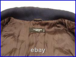 ICEBERG History Vintage Leather Stroch Dog Walt Disney Braun Size L Tip Top