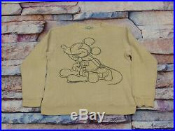 Iceberg History Vintage Pullover Mickey Mouse Walt Disney Sketch Size L Tip Top