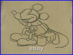 Iceberg History Vintage Pullovermickey Mouse Walt Disneyskizzegr Ltip Top