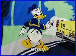 Iceberg Vintage Pulloverdonald Duck Taxi Hollywood Walt Disneygr Mtip Top