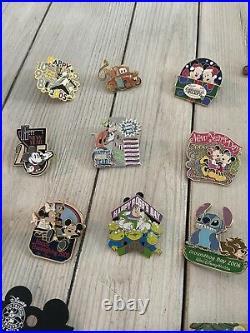 Insane Vintage Limited Edition Walt Disney Pin Lot! 30+ Pins, Very Rare