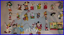 (Lot 524) Walt Disney Large collection of Vintage Christmas Ornaments 1980's