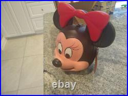 New Minnie Mouse Head Vintage Aladdin Lunch Box with NO Thermos Walt Disney