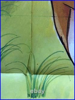 Original Bambi Movie Poster HUGE French 1-Panel 47x63 Walt Disney RARE Vintage