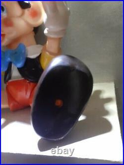 Pupazzo In Gomma Ledra Pinocchio Walt Disney Vintage