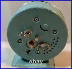RARE Animated PLUTO Metal Clock BAYARD France Vtg Walt Disney Mickey Mouse S. A