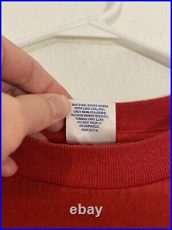 RARE Vintage 1998 Walt Disney Mulan Promotional Promo Movie Film T-Shirt XL