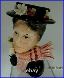RARE Vintage Headvase Mary Poppins EXCELLENT