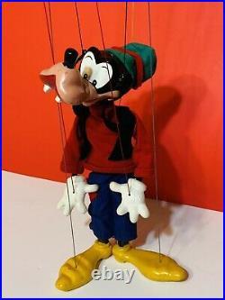 RARE! Vintage Pelham Puppet Marionette Walt Disney Goofy