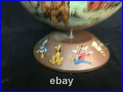 RARE Vintage Walt Disney Rand McNally Disneyland Game A World in Itself Globe
