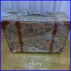 RARE Walt Disney Suitcase Luggage Trunk Carry Case Travel Vintage Giveaway
