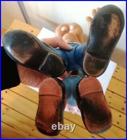 Rare! Large And Medium Vintage Rubber Toy Goofy Walt Disney Production 1963