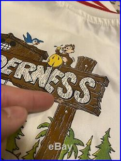 Rare Vintage 80s Mickey Mouse Fort Wilderness Resort Walt Disney World Jacket L