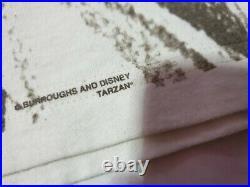Rare Vintage 90s Walt Disney TARZAN Movie Promo T shirt Size XL