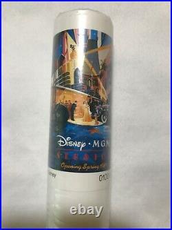 Rare! Vintage Walt Disney World MGM Studios Opening 1989 Promotional Poster NEW