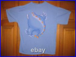 Rare and Vintage FIGMENT Dragon Disney Shirt Double Sided XL