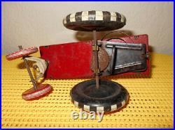 VINTAGE 1940s WALT DISNEY LOUIS MARX TOYS MICKEY MOUSE DIPSY CAR
