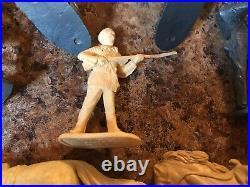 VINTAGE MARX PLAYSET WALT DISNEY DAVY CROCKETT AT THE ALAMO 1950's