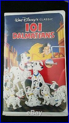 VINTAGE RARE101 Dalmatians Walt Disney Black Diamond Classic Catalog # 1263