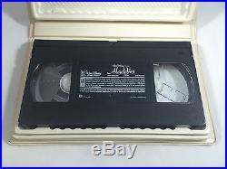 VINTAGE RARE Aladdin (VHS 1993) Walt Disney Black Diamond Classic