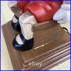 VTG 1974 11 Pinocchio Walt Disney Atlantic Mold Ceramic Lamp Tested M Wellman