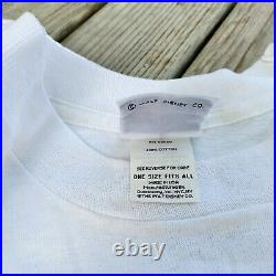 VTG 80s Walt Disney Deadstock Donald Duck T-Shirt Super Rare HUGE Print XL USA