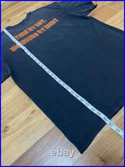 VTG 90s Walt Disney GARGOYLES TV Show Double Sided T Shirt Black L / XL