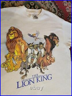 VTG Lion King Promotional Shirt- 1994- Single Stitch