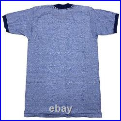 VTG Walt Disney Mens Medium Blue Epcot 1982 Opening Crew Figment Cast T-Shirt M