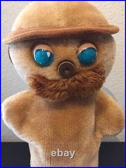VTG Walt Disney Return To Oz Hand Puppet Tik-Tok Plush 1985 Smuckers