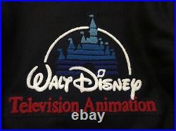 VTG Walt Disney Television Animation Cast Member Employee Varsity Jacket 10 Year