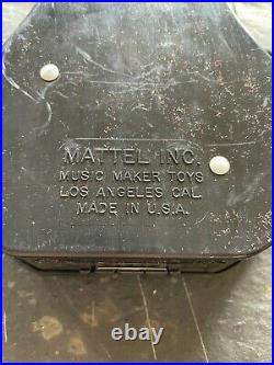 Vintage 1953 Walt Disney Davy Crockett Ge-tar Guitar & Music Box Item #5814-100