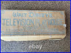 Vintage 1955 Marx Walt Disney Television Playhouse Brand New Unused In Box WOW
