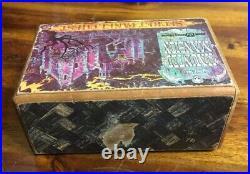 Vintage 1971 Haunted Mansion Puzzle Box Walt Disney World Secret Panel Chest