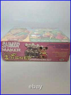 Vintage 1972 Ideal Shaker Maker Walt Disney Characters Set 1970's Toy