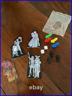 Vintage 1975 Lakeside Walt Disney Haunted Mansion Board Game Incomplete