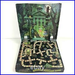 Vintage 1975 Walt Disney World Haunted Mansion Game Incomplete