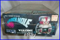 Vintage 1979 Walt Disney The Black Hole V. I. Ncent Vincent Model Kit Sealed Mint