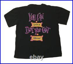 Vintage 1990's Tower of Terror Twilight Zone T-Shirt Sz L Walt Disney World Ride